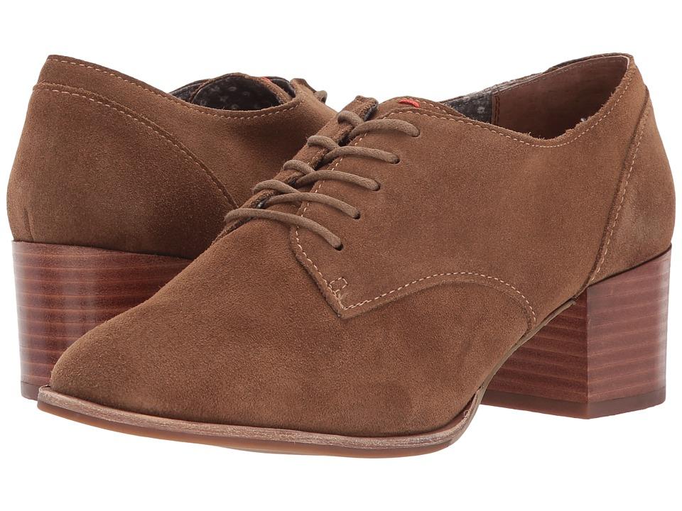 60s Shoes, Boots | 70s Shoes, Platforms, Boots ED Ellen DeGeneres - Phoebe Dark Brindle Split SuedeWaxed Cotton Womens Shoes $90.99 AT vintagedancer.com
