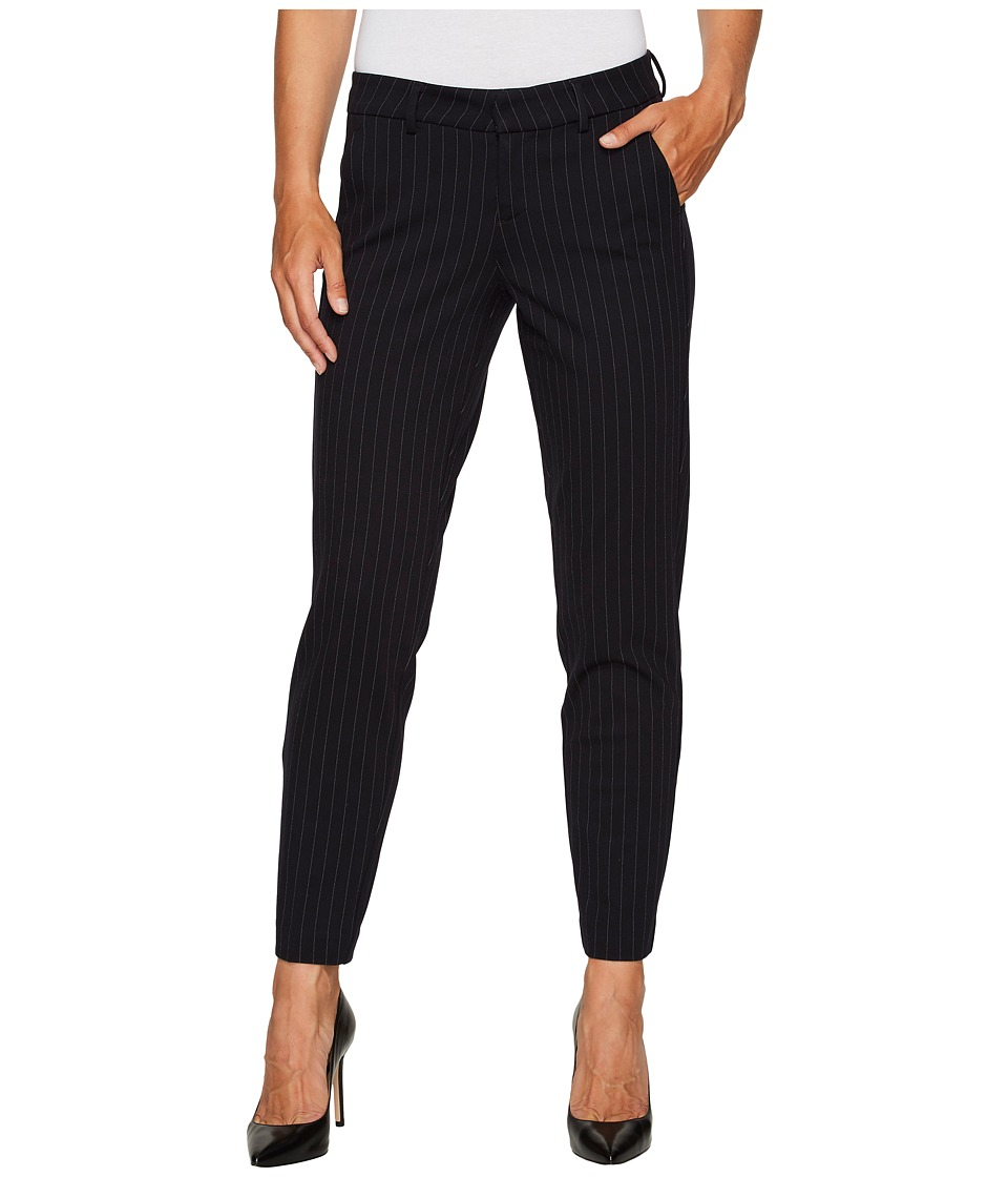 Liverpool Kelsey Slim Leg Trousers in Windowpane Ponte Kn...