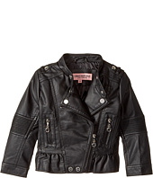 Urban Republic Kids - Faux Leather Moto with Peplum (Toddler)