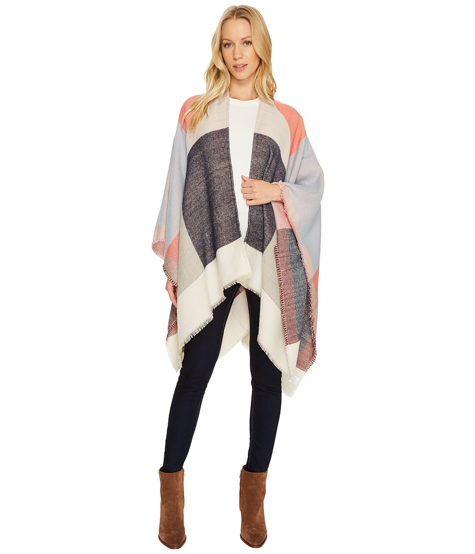 Echo Design Geo Block Ruana (Multi) Women