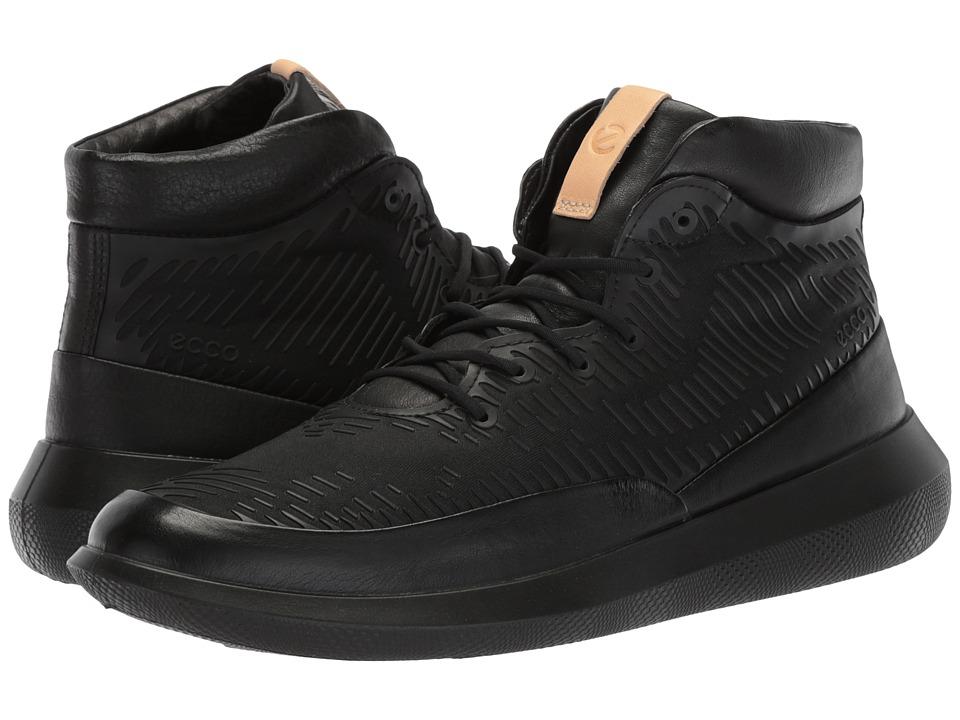 ECCO Scinapse Premium High (Black) Women's Shoes