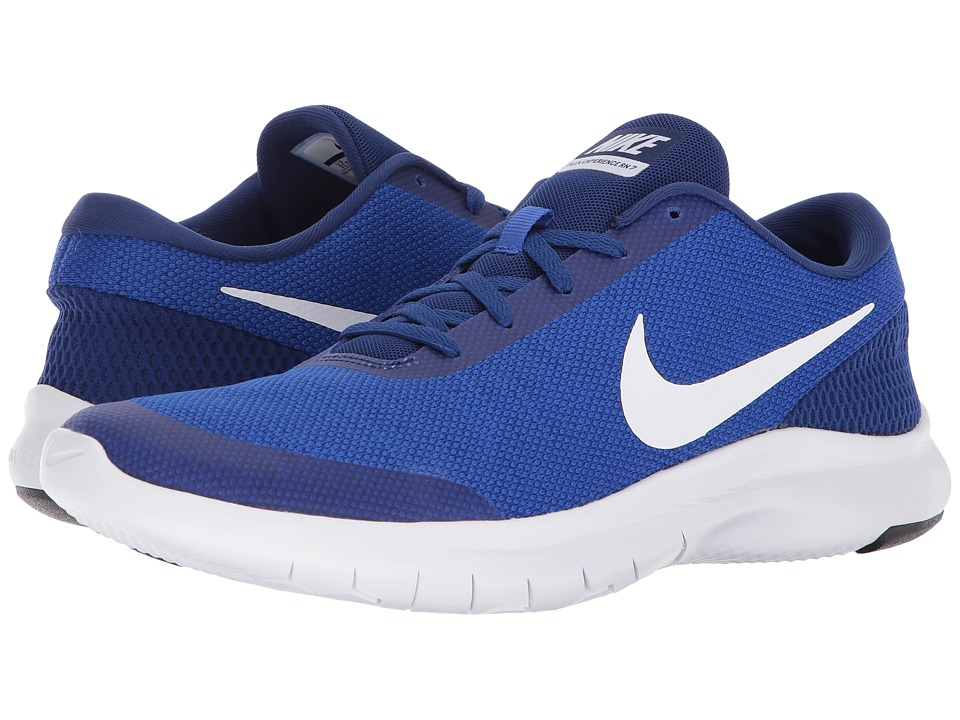 Nike Flex Experience RN 7 (Hyper Royal/White/Deep Royal B...