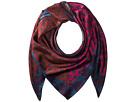 Echo Design Cut Out Foulard Silk Square Scarf