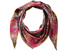 Echo Design - Forest Scene Silk Diamond Shape Scarf