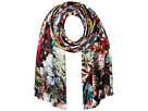 Echo Design Floral Patchwork Double-Faced Scarf Wrap