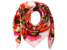Echo Design Abstract Floral Silk Square Scarf