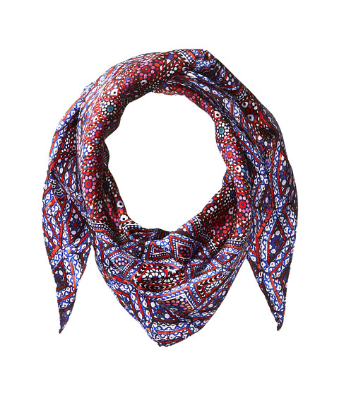 Echo Design Medallion Silk Diamond Shaped Scarf - Multi