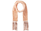 Echo Design - Velvet Double-Faced Long and Skinny Oblong Scarf