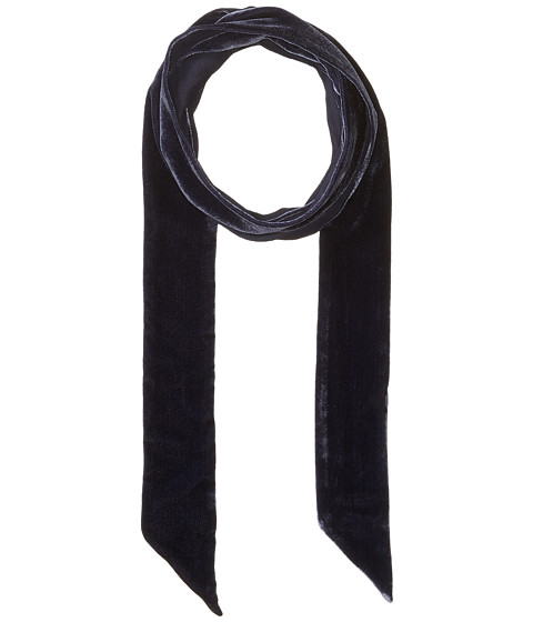 Echo Design Bias Point Velvet Thinny Oblong Scarf - Maritime Navy