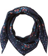 Echo Design - Floral Lace Silk Diamond Shape Scarf