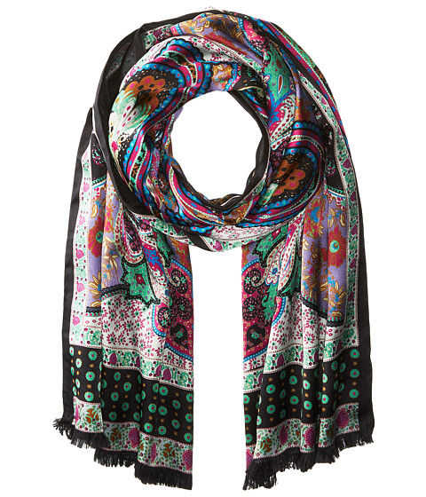 Echo Design Paisley Double-Faced Silk Wrap - Multi