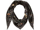 Echo Design - Floral Lace Silk Diamond Shape Scarf