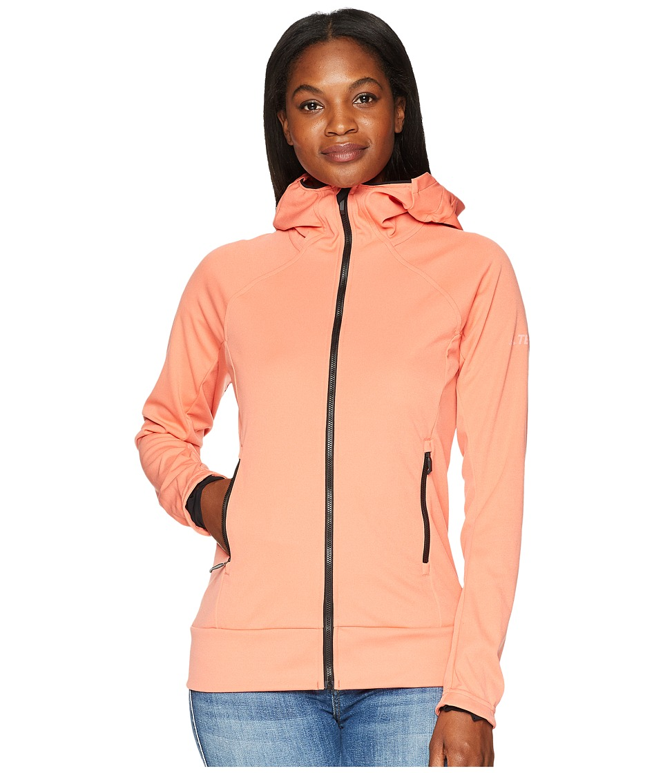 adidas Outdoor Stretch Softshell Jacket (Trace Scarlet) Women