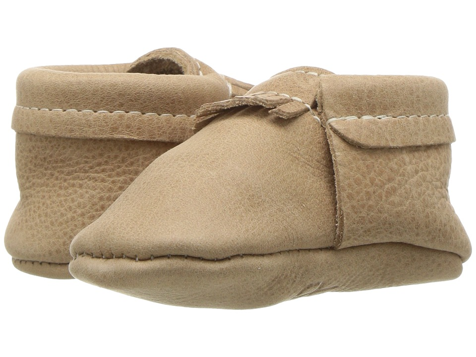 Freshly Picked Soft Sole City Moccasins (Infant/Toddler) (Weathered Brown) Kids Shoes