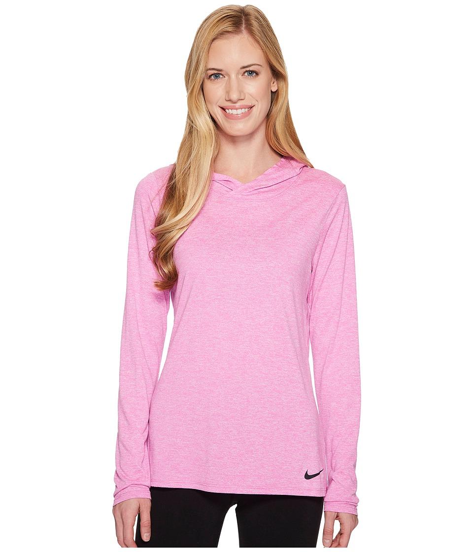 Nike Dry Legend Training Top (Hyper Magenta/Pure Platinum/Black) Women