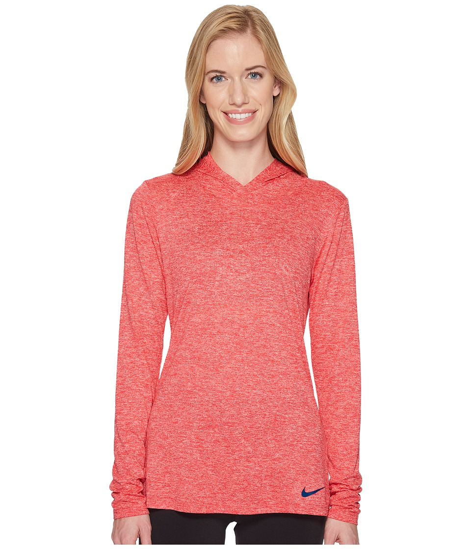 Nike Dry Legend Training Top (Tropical Pink/Bleach Coral/Blue Force) Women