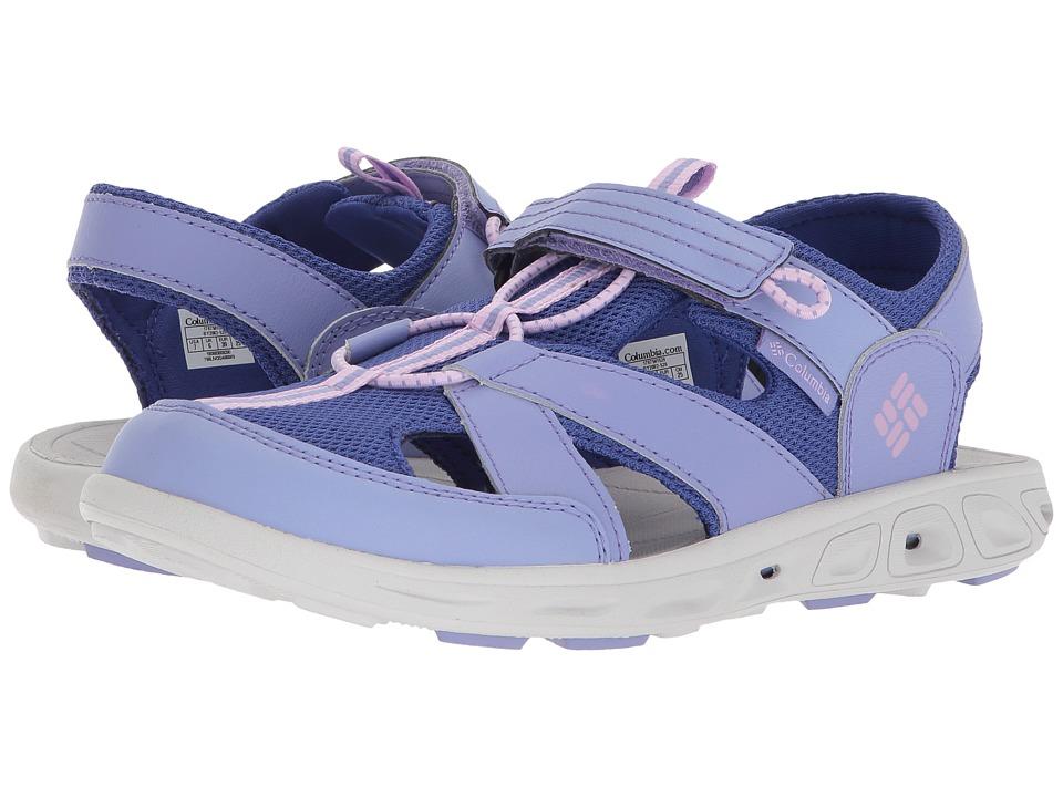 Columbia Kids Techsun Wave (Toddler/Little Kid/Big Kid) (Fairytale/Phantom Purple) Girls Shoes