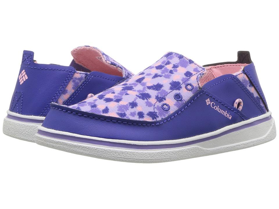 Columbia Kids Bahama (Toddler/Little Kid/Big Kid) (Clematis Blue/Cupid) Girls Shoes