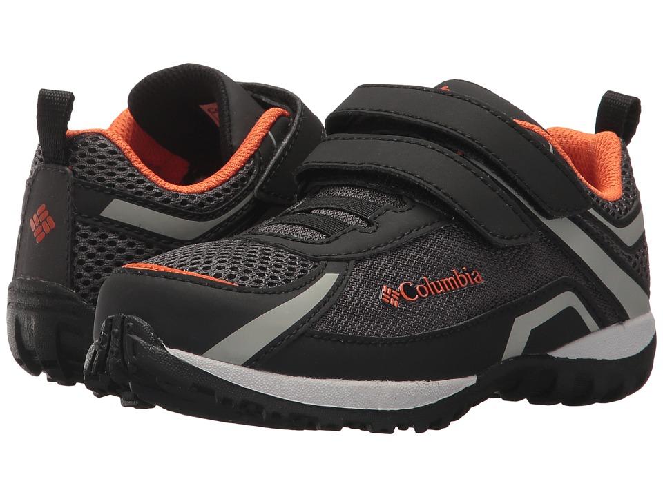 Columbia Kids Conspiracy (Toddler/Little Kid/Big Kid) (Dark Grey/Heatwave) Boys Shoes