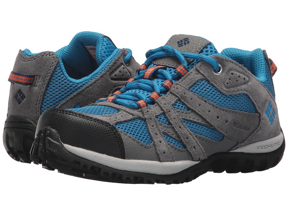 Columbia Kids Redmond (Little Kid/Big Kid) (Static Blue/Heatwave) Boys Shoes