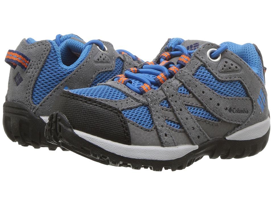 Columbia Kids Redmond (Toddler/Little Kid) (Static Blue/Heatwave) Boys Shoes