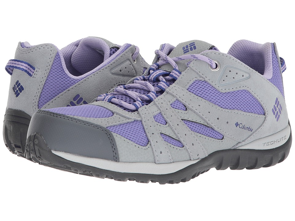 Columbia Kids - Redmond (Little Kid/Big Kid) (Purple Aster/Clematis Blue) Girls Shoes
