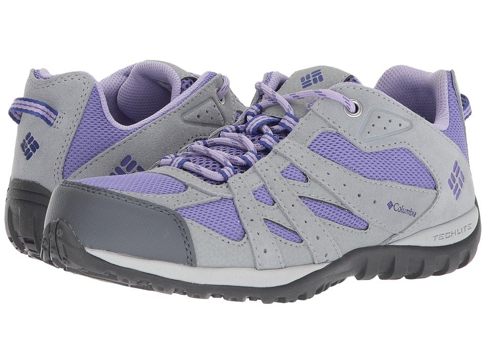 Columbia Kids Redmond (Little Kid/Big Kid) (Purple Aster/Clematis Blue) Girls Shoes
