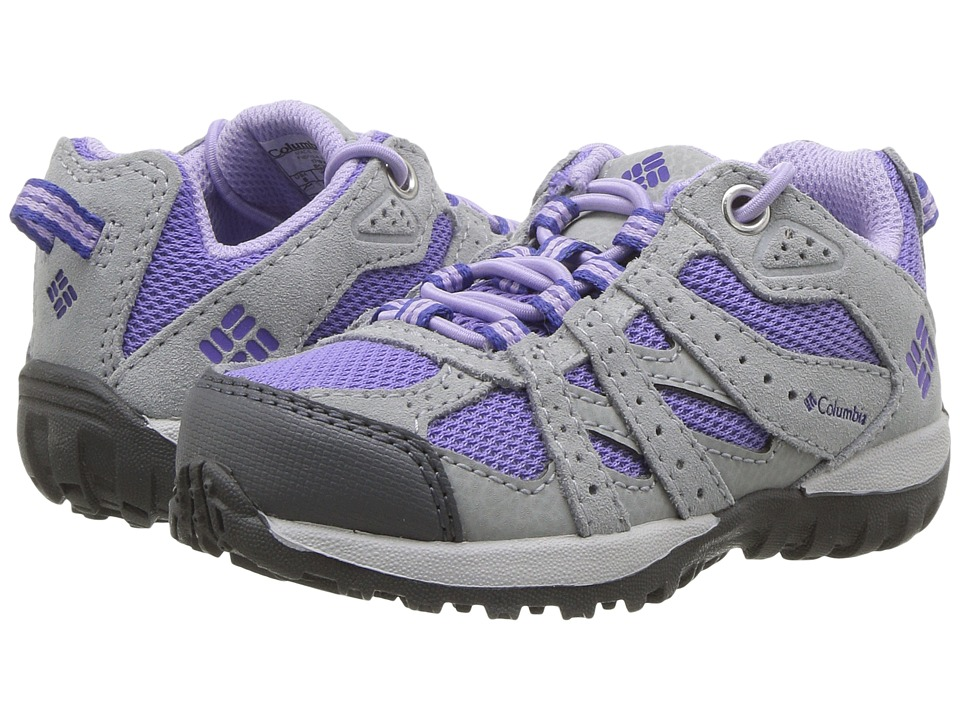 Columbia Kids - Redmond (Toddler/Little Kid) (Purple Aster/Clematis Blue) Girls Shoes