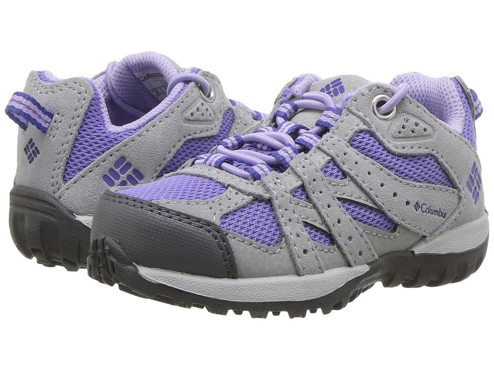 Columbia Kids Redmond (Toddler/Little Kid) (Purple Aster/Clematis Blue) Girls Shoes