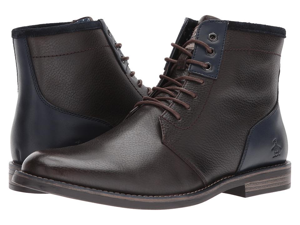 Penguin Neil (Dark Brown) Men's Shoes