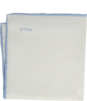 Eton - Border Linen Pocket Square