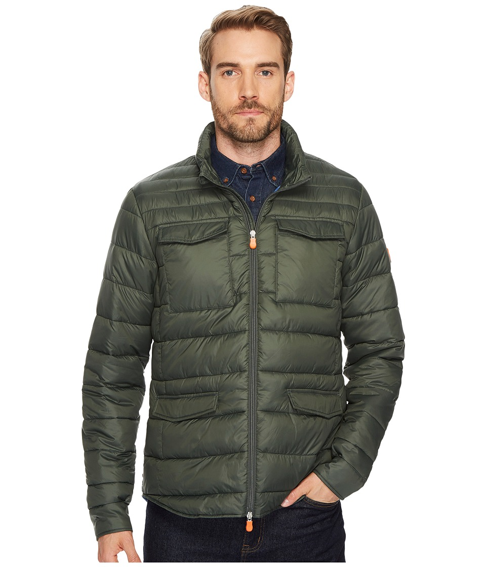 Save the Duck - Field Jacket (Deep Green) Mens Coat