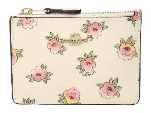 COACH Flower Patch Mini ID Skinny - LI/Flower Patch