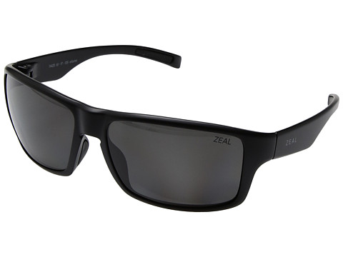 Zeal Optics Incline - Matte Black w/ Polarized Dark Grey Lens