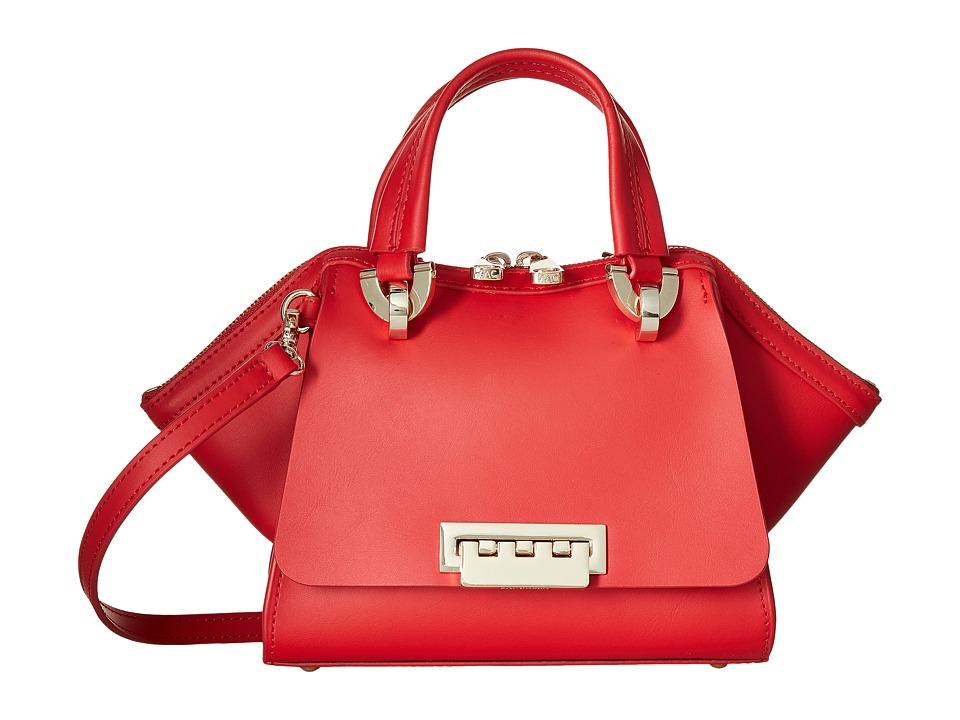 ZAC Zac Posen - Eartha Iconic Mini Double Handle (Geranium) Top-handle Handbags