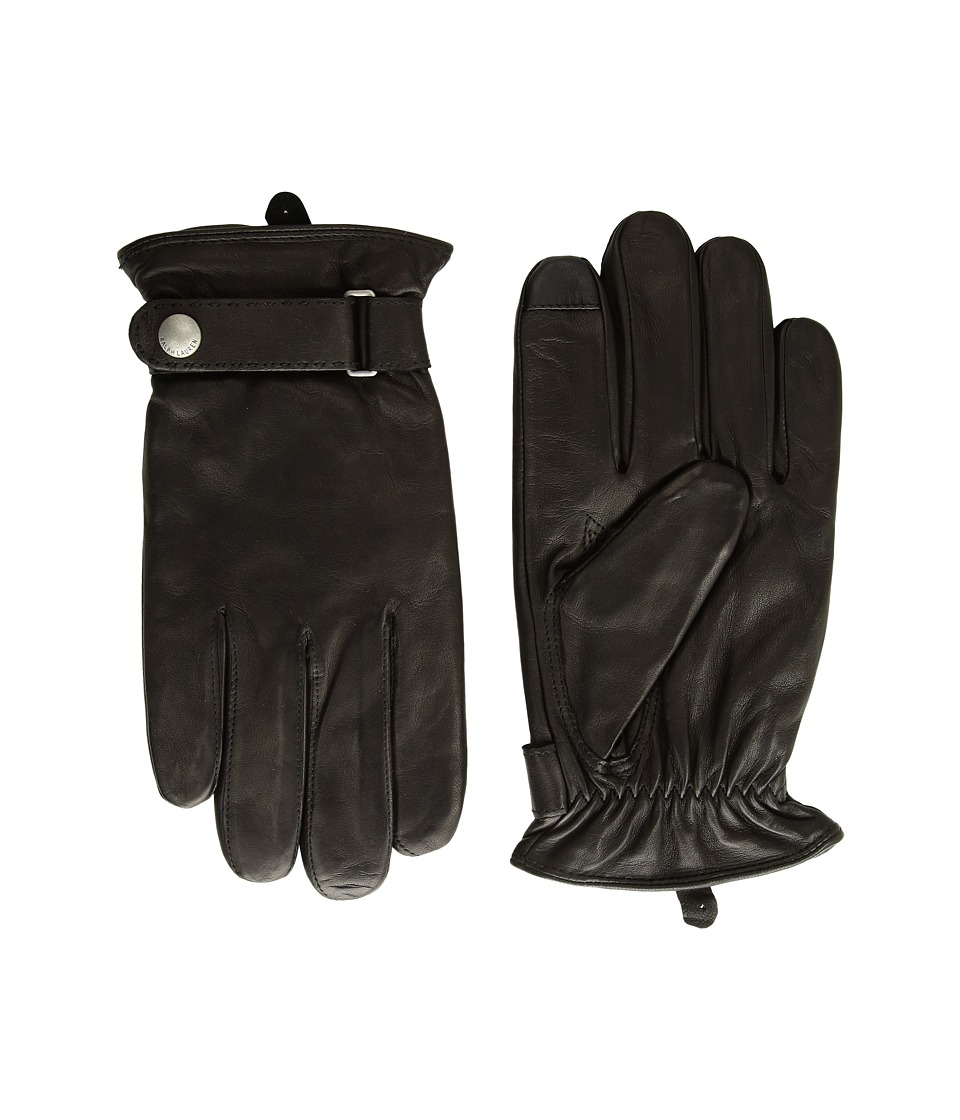 Polo Ralph Lauren Classic Nappa Touch Gloves (Ralph Lauren Black) Extreme Cold Weather Gloves