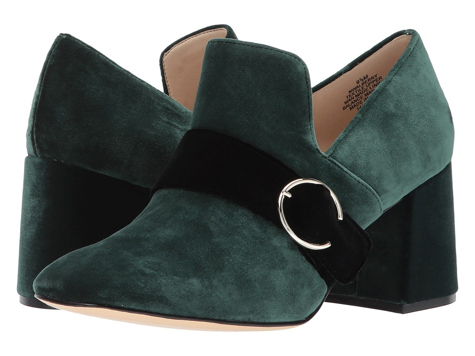Nine West Alberry (Green/Black Fabric) Women