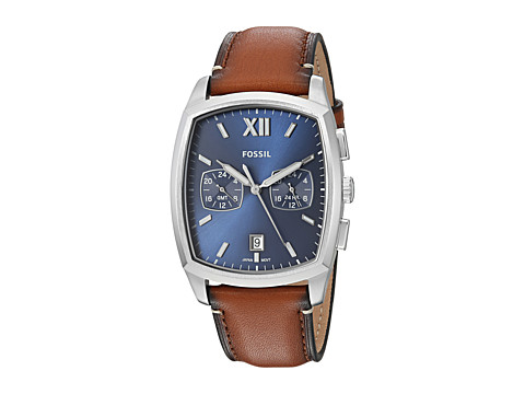 Fossil Knox Dual Time - FS5354 - Brown