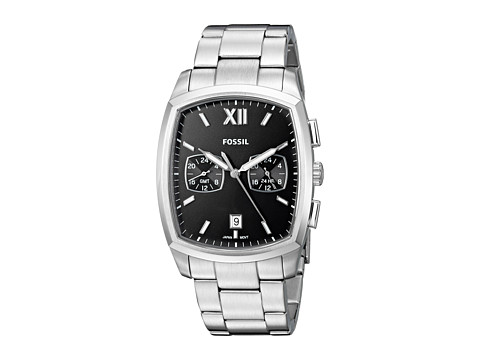 Fossil Knox Dual Time - FS5358 - Silver