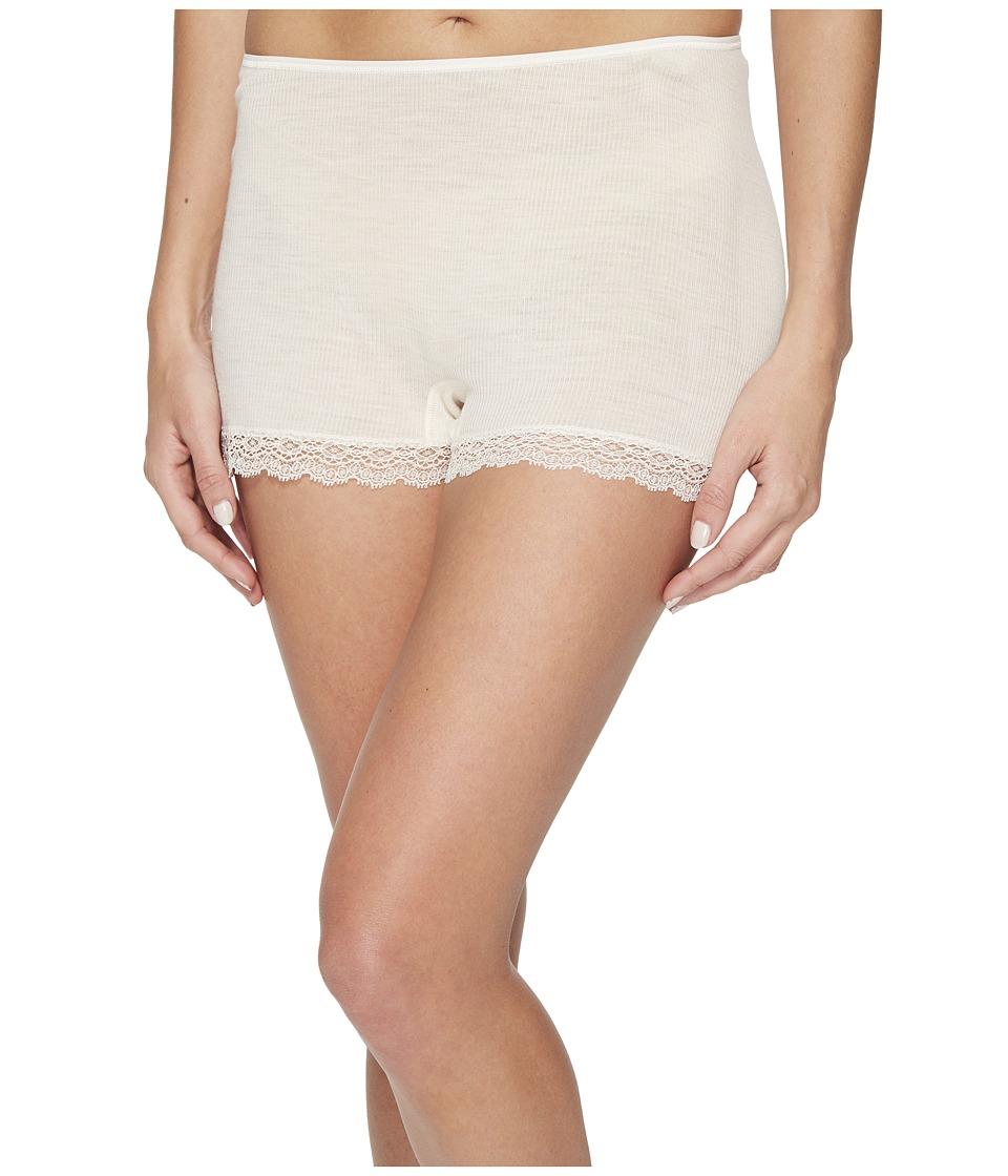 Hanro Woolen Lace Boyleg (Vanilla) Women's Underwear