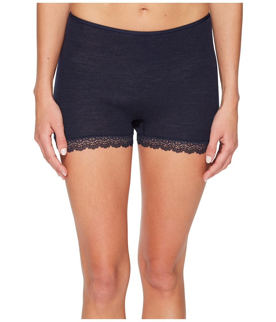 Hanro Woolen Lace Boyleg (Ocean) Women's Underwear