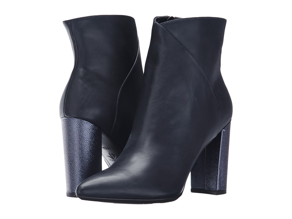 Nine West Argyle (Navy Leather) Women