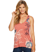 Lucky Brand - Birds Flower Scroll Top