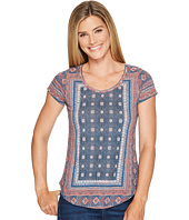 Lucky Brand - Short Sleeve Placed Tee