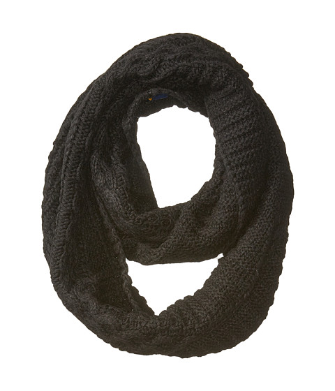 Polo Ralph Lauren Traveling Aran Neck Ring Scarf - Black