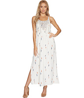 Lucky Brand - Embroidered Apron Dress