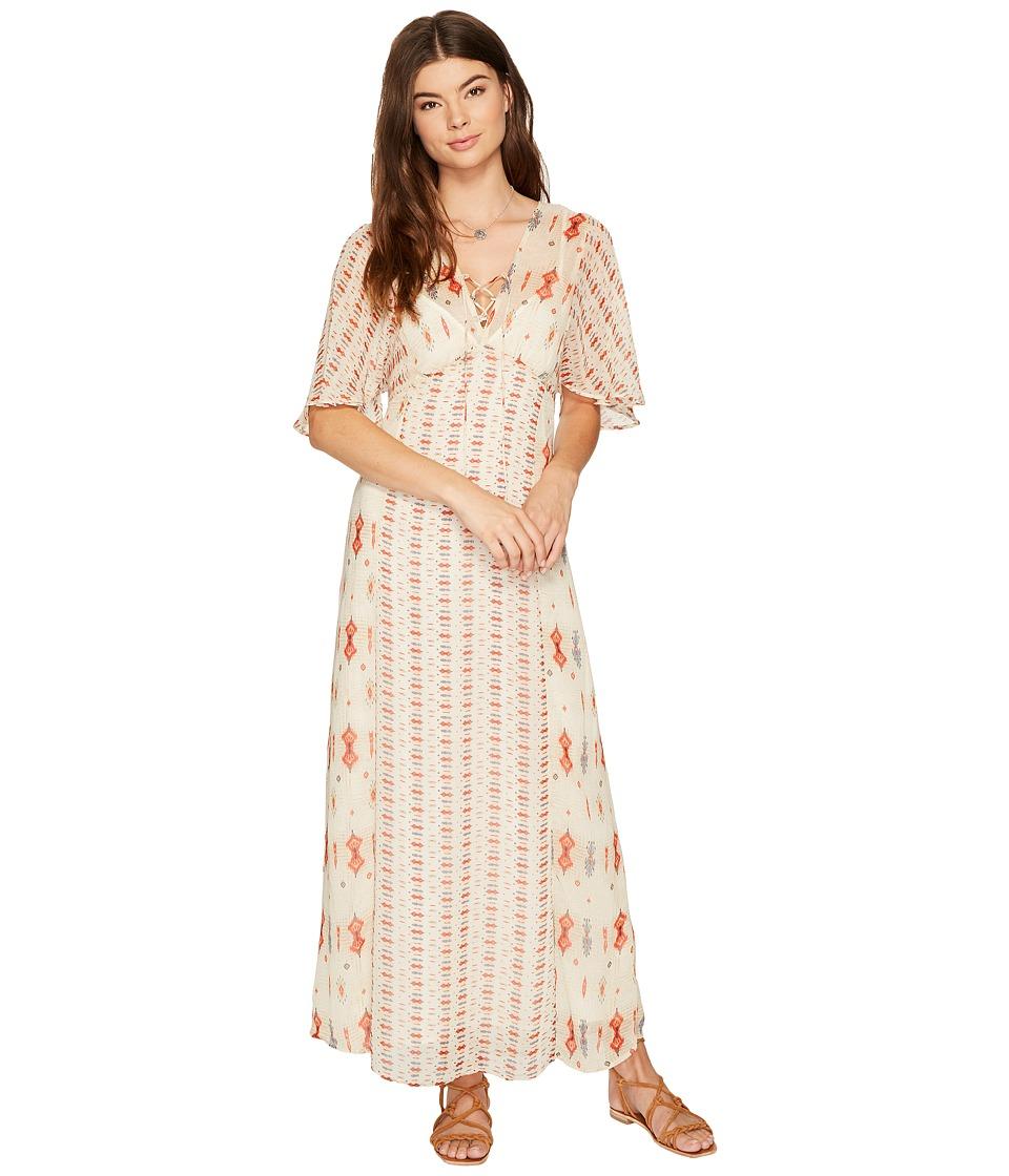 Lucky Brand Vicky Dress (Natural Multi) Women