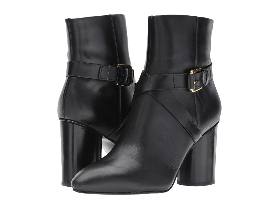 Nine West Cavanagh (Black Leather) Women