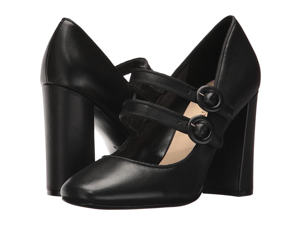 Nine West Dabney (Black/Black Leather) High Heels