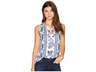 Lucky Brand - Embroidered Floral Tank Top